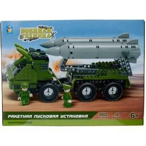 Конструктор 1Toy военная техника ракетная пусковая установка 360дет Т57024 1toy линкор военная техника