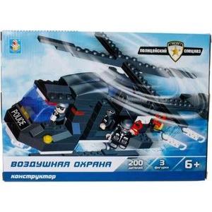 цена Конструктор 1Toy полицейский спецназ воздушная охрана 200дет Т57018