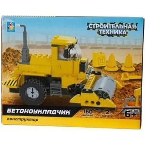 Конструктор 1Toy строительная техника бетоноукладчик 160дет Т57029