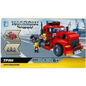Конструктор 1Toy строительная техника трак 430дет Т57036