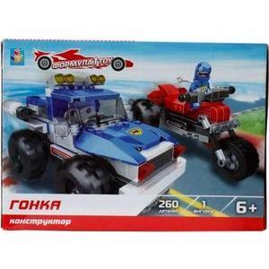 Конструктор 1Toy формула гонка 260дет Т57028