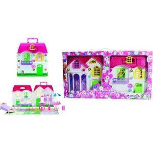 Дом для кукол 1Toy Красотка Т56586 игровая палатка 1toy красотка т59903