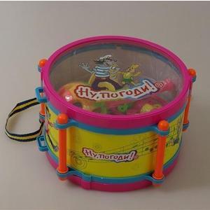 Музыкальный инструмент 1Toy Ну Погоди Т52250 развивающая игрушка 1toy ну погоди 1toy ну погоди музыкальные инструменты в барабане