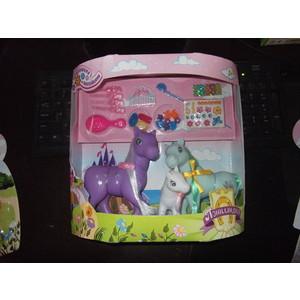Фотография товара игровой набор 1Toy Пониландия семья пони Т54409 (499469)