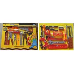 Подробнее о Игровой набор 1Toy Профи Мастер Набор инструментов Т56251 1toy электроинструмент профи мастер