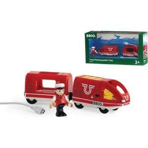 Фотография товара brio Пассажирский поезд с USB подзарядкой (33746) (499612)