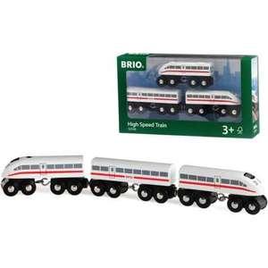Brio пассажирский поезд-экспресс со звуком (33748)