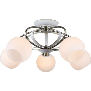 Потолочная люстра Artelamp A6342PL-5WG arte lamp потолочная люстра ellisse a6342pl 5wg