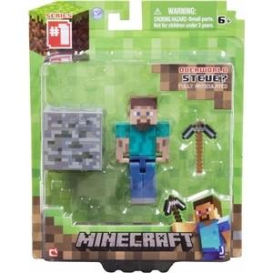 Игровой набор Minecraft Стив (16501) jazwares фигурка стив 8см minecraft