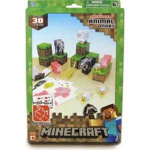 Конструктор Minecraft из бумаги Дружелюбные мобы (16701)