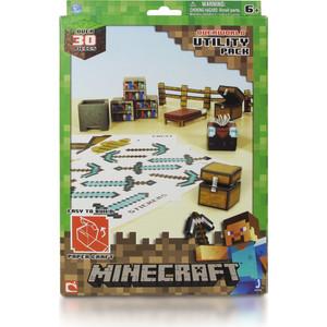 Конструктор Minecraft из бумаги Предметы (16702)