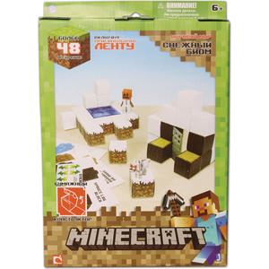 Конструктор Minecraft из бумаги Снежный биом (16712)