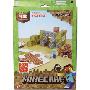 Конструктор Minecraft из бумаги Убежище (16711)