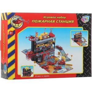 Игровой набор Play Smart Пожарная станция (Р41446) игрушка play smart газель 3221 пожарная р40526