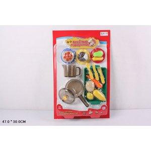 Игровой набор Play Smart кухонные и муляжи Веселый поваренок (Р41345)
