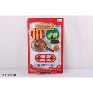 Игровой набор Play Smart кухонные принадлежности и муляжи Веселый поваренок (Р41451) автомат play smart снайпер р41399