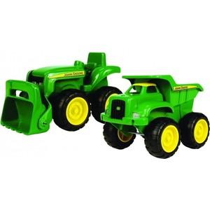 Игровой набор Tomy Трактор и самосвал (ТО42952) игровые наборы tomy моя первая ферма набор с погрузчиком