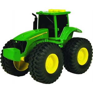 Трактор Tomy (ТО42934) машинки tomy трактор john deere 6830 с двойными колесами и фронтальным погрузчиком