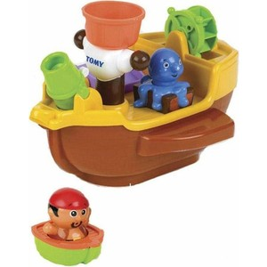 Игрушка для ванной Tomy Пиратский корабль (ТО71602) tomy bath друзья дельфины e6528