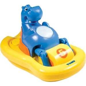 Игрушка для ванной Tomy Бегемот на катамаране (ТО2161)