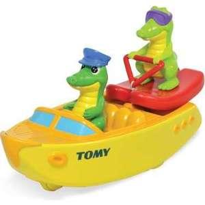 Игрушка для ванной Tomy Крокодил на водных лыжах (ТО72358)
