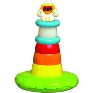 Пирамидка Tomy для ванны со светом Маяк (ТО72194) tomy bath друзья дельфины e6528