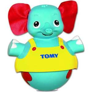 Развивающая игрушка Tomy неваляшка Слоник учится ходить (ТО72228) от ТЕХПОРТ
