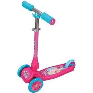 Самокат 1Toy Barbie управление наклоном Т57631