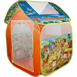 Палатка Играем вместе детская игровая Веселая ферма (GFA-FARM-R)