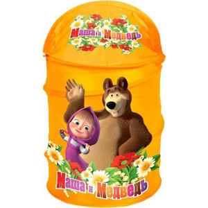 Корзина Играем вместе для игрушек Маша и медведь (XDP-1792-R)