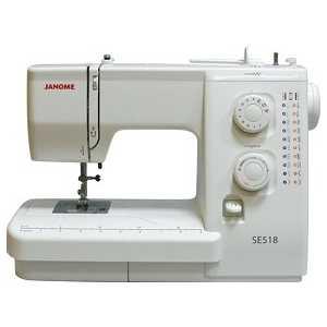 Купить швейная машина Janome SE 518 (50078) в Москве, в Спб и в России