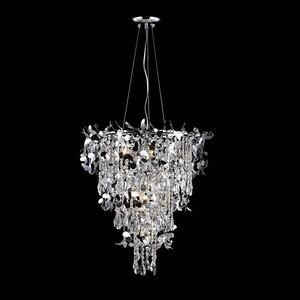 Подвесная люстра Crystal Lux Romeo SP10 Crom D600 подвесная люстра crystal lux princess sp10 5