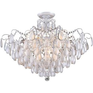 Потолочная люстра Crystal Lux Sevilia PL9 Silver modern acrylic led ceiling light with remote control living room bedroom dimming lamp decor home lighting fixtures 220v