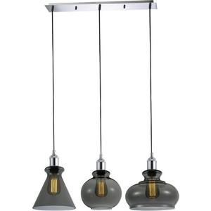 Подвесной светильник Crystal Lux Tre SP3 L Smoke цена