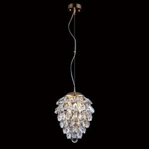 Подвесной светильник Crystal Lux Charme SP2+2 LED Oro/Crystal подвесной светильник charme sp3 3 led gold transparent crystal lux 1154265