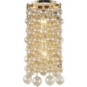 Бра Crystal Lux Mallorca AP2 Gold/Amber цена и фото
