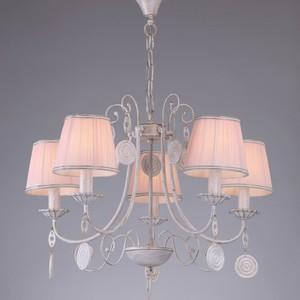 Подвесная люстра Crystal Lux Emilia SP5 crystal lux абжур для люстры crystal lux lampshade emilia sp ap white