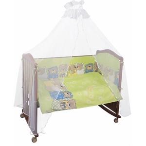 Комплект в кроватку Сонный Гномик Лежебоки 3 предмета зеленый (КСЛ3-0368315/3)