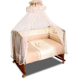 Комплект в кроватку Сонный Гномик Лошадка 3 предмета кофе с молоком (КСЛ3-0370330)