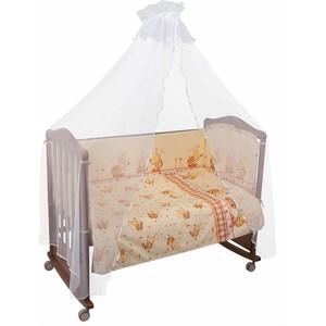 Комплект в кроватку Сонный Гномик пчелки 3 предмета бежевый (КСП3-0377332/4)