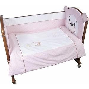 Комплект в кроватку Сонный Гномик Умка 3 предмета розовый (КСВ3-0364376/2) комплект в кроватку сонный гномик комплект в кроватку считалочка 3 предмета бежевый