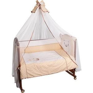 Комплект в кроватку Сонный Гномик Умка 7 предметов бежевый (КСУ7-0488776/4) цена