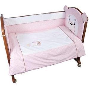 Комплект в кроватку Сонный Гномик Умка 7 предметов розовый (КСУ7-0488776/2)