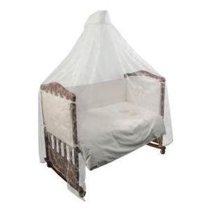 Комплект в кроватку Сонный Гномик Эльфы 3 предмета Молочный (КСЭ3-0563368/0)