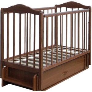 Кровать СКВ Компани Березка опускающаяся стенка поперечный и продольный маятник ящик качалка накладка ПВХ венге (КБ126-0300126008)