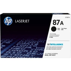 Картридж HP 87A (CF287A) lcl 87a cf287a 1 pack black toner cartridge compatible for hp laserjet enterprise m506dn m506x m506n m506dn mfp m527z m527dn