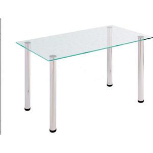 Стол обеденный Мебель из Стекла АРТ-6.0 ДГ2 прозрачный с цветами
