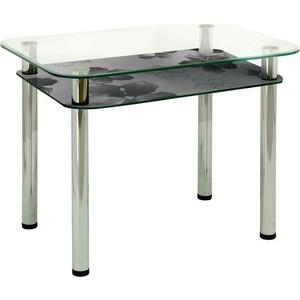 Стол обеденный Мебель из Стекла 3.4 Д12 плетёная мебель