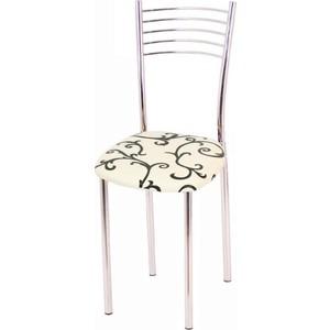 Стул Мебель из Стекла Тюльпан1 ДП28 белый, 2 шт