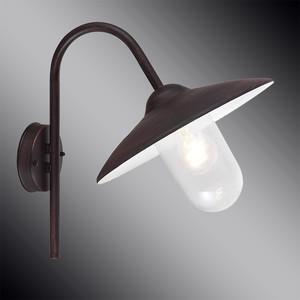 Уличный настенный светильник Brilliant 41181/55 стоимость